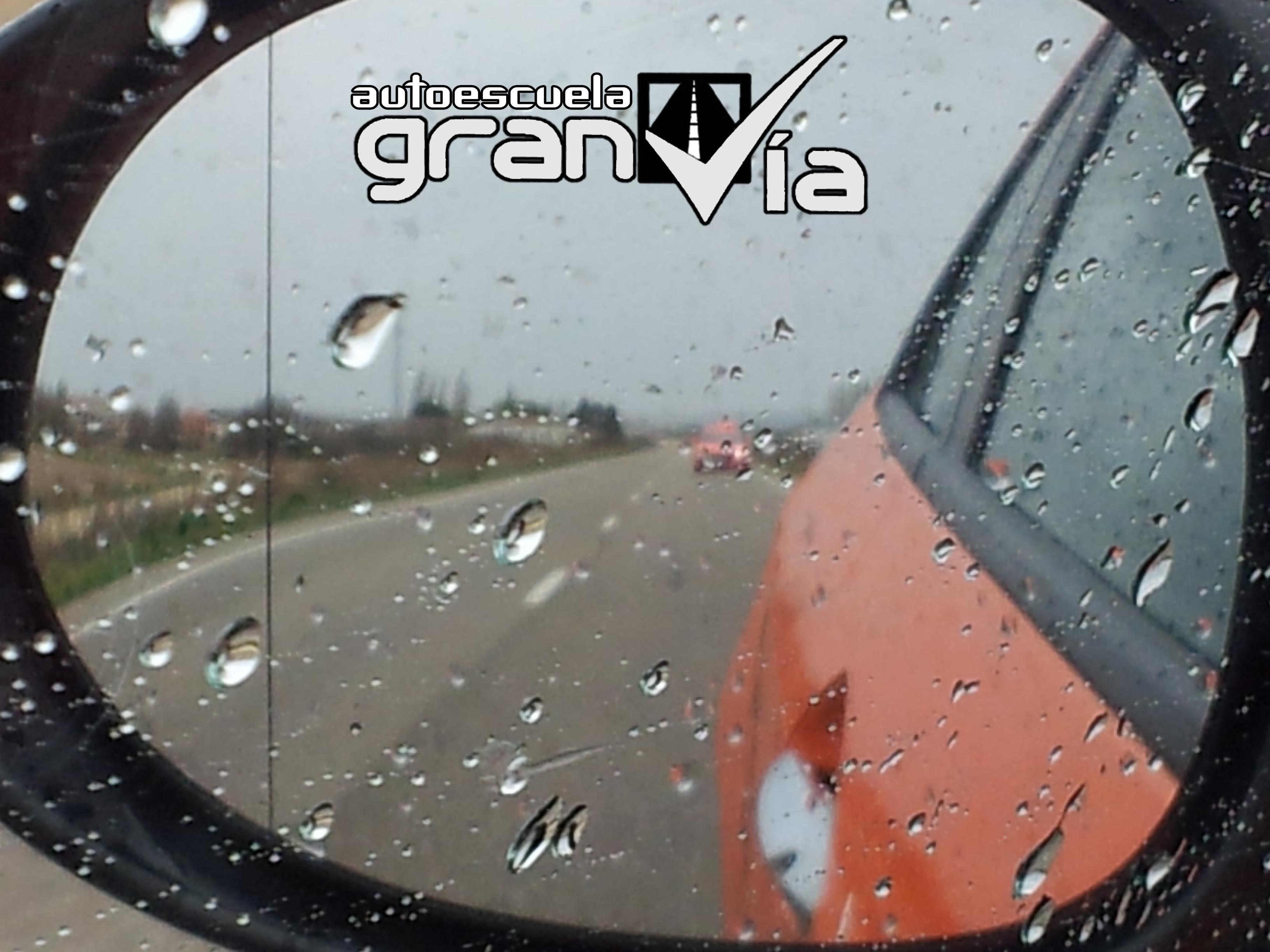autoescuela gran via llueve